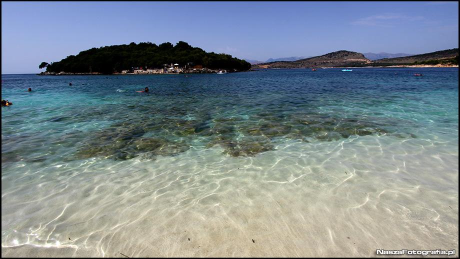 Albania Plaża Ksamil