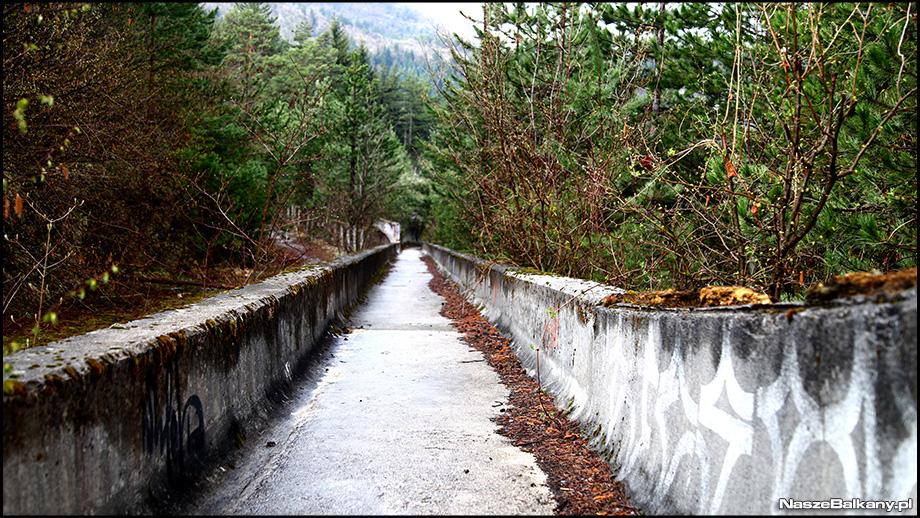 trebević bobsleigh 1984