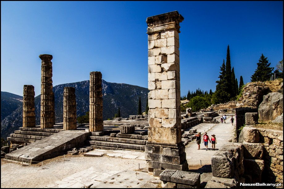 Grecja Delfy